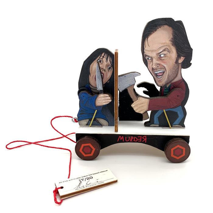 """The Shining"" Pull Toy by Steve Casino"