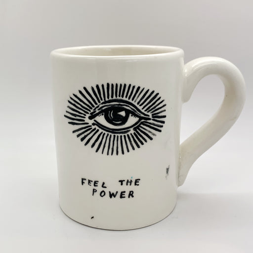 'Feel the Power' Mug by David Fullarton