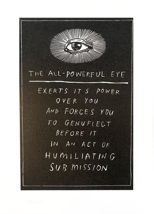 The All Powerful Eye by David Fullarton