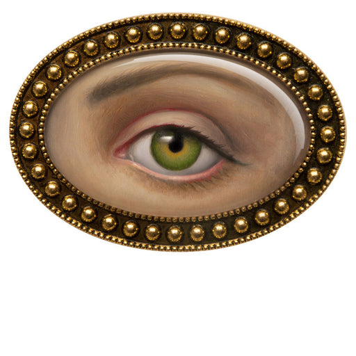 Lover's Eye brooch by Mark Ryden