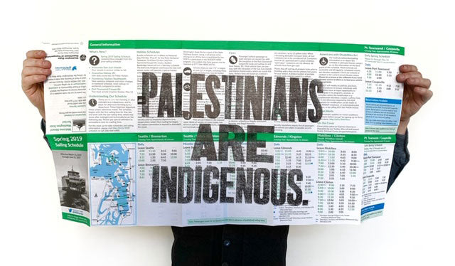 Palestinians are Indigenous
