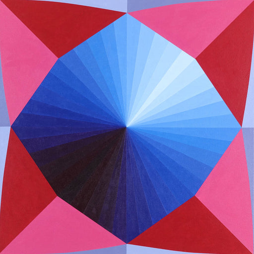 Paper Fortune Teller (red, pink, blue)