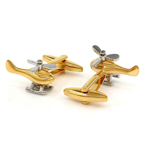 Helicopter Cufflinks - Watches Under $100