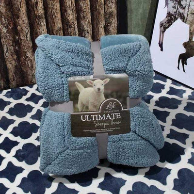 1 / 100x120cm Ultimate Sherpa Throw Electric Solitude