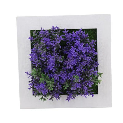 12A Wall Frames with Artificial Flowers imxgine