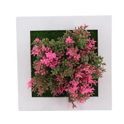 13A Wall Frames with Artificial Flowers imxgine