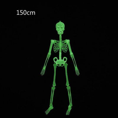 150cm Luminous Skeleton Halloween Decoration Electric Solitude