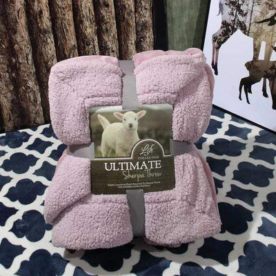 2 / 200x230cm Ultimate Sherpa Throw Electric Solitude