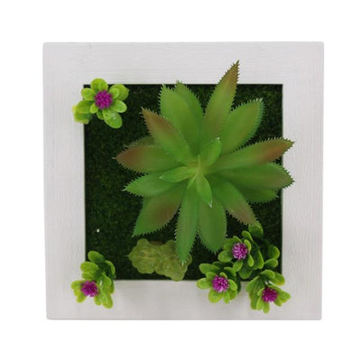 26A Wall Frames with Artificial Flowers imxgine