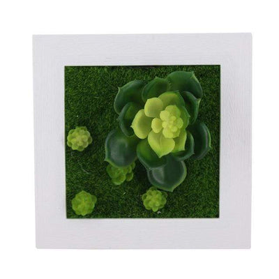 28A Wall Frames with Artificial Flowers imxgine
