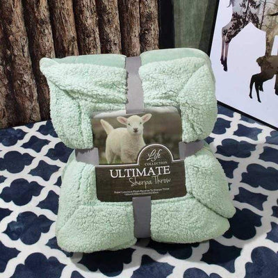 3 / 150x200cm Ultimate Sherpa Throw Electric Solitude