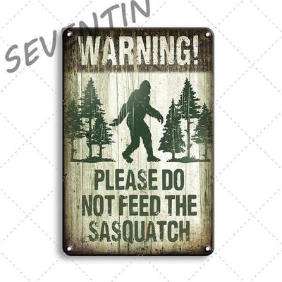 30309 / 20x30cm Vintage Metal Signs Electric Solitude