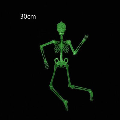 30cm Luminous Skeleton Halloween Decoration Electric Solitude