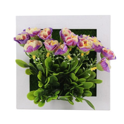 31A Wall Frames with Artificial Flowers imxgine