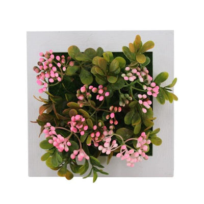 39A Wall Frames with Artificial Flowers imxgine