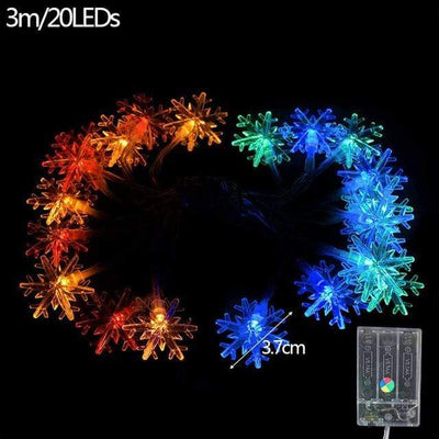 3m Snowflake C Halloween LED Extravaganza Electric Solitude