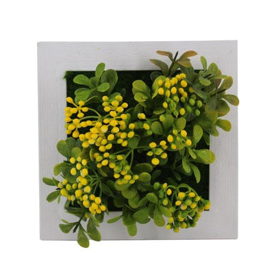 40A Wall Frames with Artificial Flowers imxgine