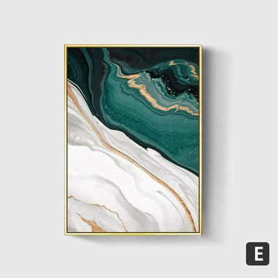 40X60cm No Frame / E Emerald Sea Canvas Art imxgine