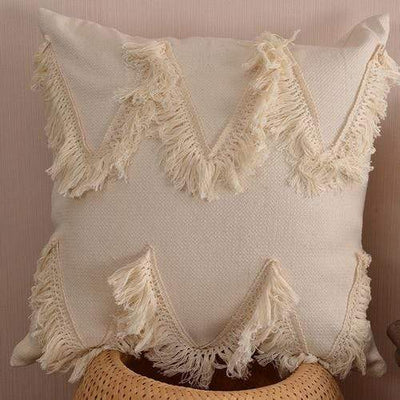 45X45cm just cover 1 / 45X45cm 1pc Moroccan Macrame Pillows Electric Solitude