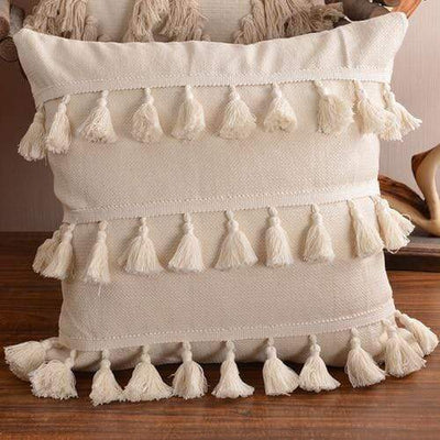 45X45cm just cover 2 / 45X45cm 1pc Moroccan Macrame Pillows Electric Solitude