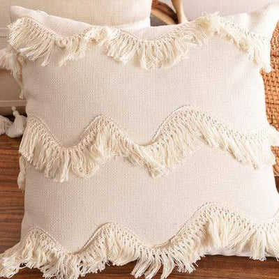 45X45cm just cover / 45X45cm 1pc Moroccan Macrame Pillows Electric Solitude