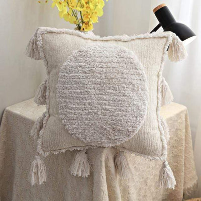 45X45cm just cover 6 / 45X45cm 1pc Moroccan Macrame Pillows Electric Solitude