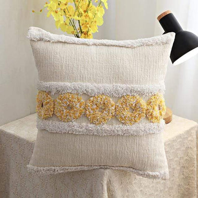 45X45cm just cover 7 / 45X45cm 1pc Moroccan Macrame Pillows Electric Solitude