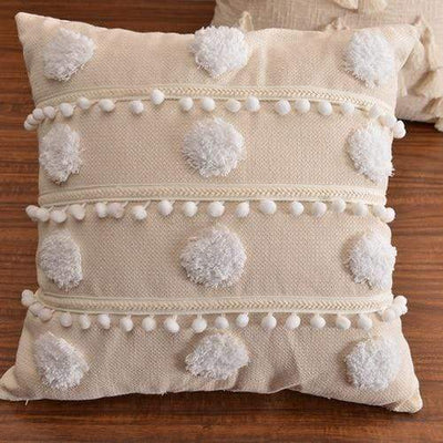 45X45cm with core / 45X45cm1pc Moroccan Macrame Pillows Electric Solitude