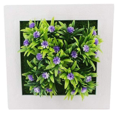 46A Wall Frames with Artificial Flowers imxgine