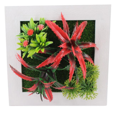 48A Wall Frames with Artificial Flowers imxgine