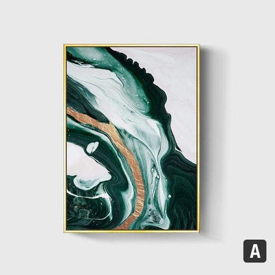 50X70cm No Frame / A Emerald Sea Canvas Art imxgine