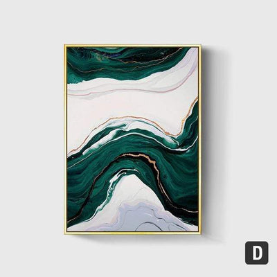 50X70cm No Frame / D Emerald Sea Canvas Art imxgine
