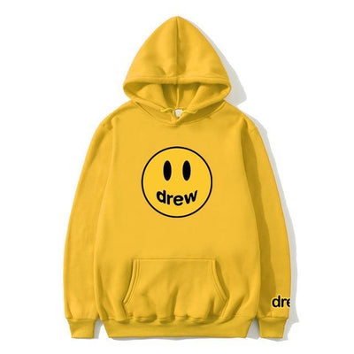 7yellow / XL Happy Pullover Hoodie imxgine