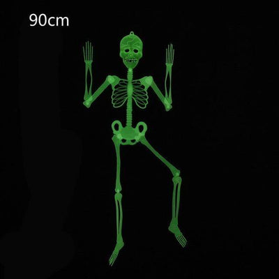90cm Luminous Skeleton Halloween Decoration Electric Solitude