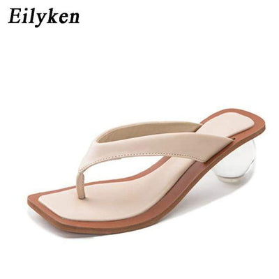 Apricot / 37 Elysian Orb Heels Electric Solitude