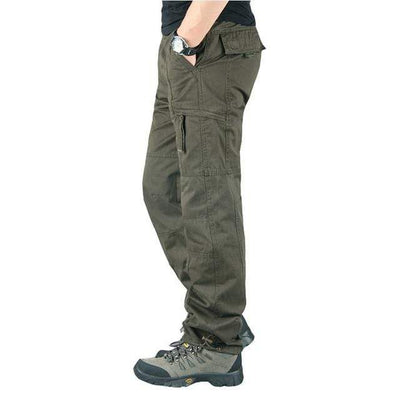 army green 2 / M Men's Ripstop Relaxed Fit Work Pant Baron Supply Co