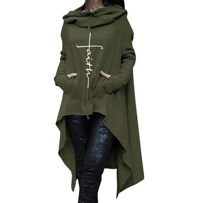 Army Green / 4XL Esther's Faith Hoodie that Dealio