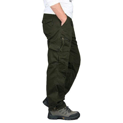 Army green / XXXL Men's Ripstop Relaxed Fit Work Pant Baron Supply Co