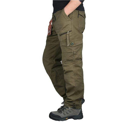 army yellow / XXXL Men's Ripstop Relaxed Fit Work Pant Baron Supply Co