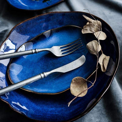 Atlantis Artisan Dinnerware Electric Solitude
