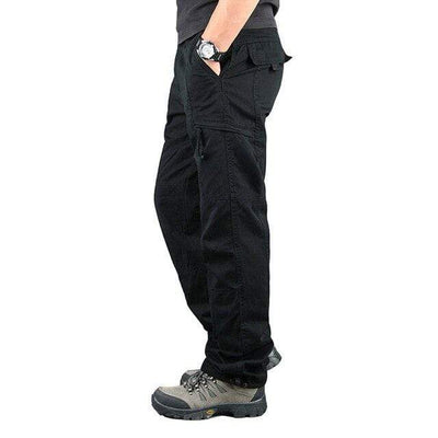 black 2 / XXXL Men's Ripstop Relaxed Fit Work Pant Baron Supply Co
