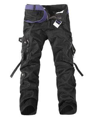 black / 33 Street Extreme Cargo Pants that Dealio