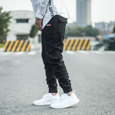 Black / 40 New Streetwear Joggers Electric Solitude