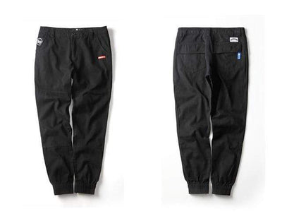 Black / 4XL / China New Streetwear Joggers Electric Solitude