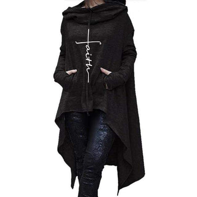 Black / 4XL Esther's Faith Hoodie that Dealio