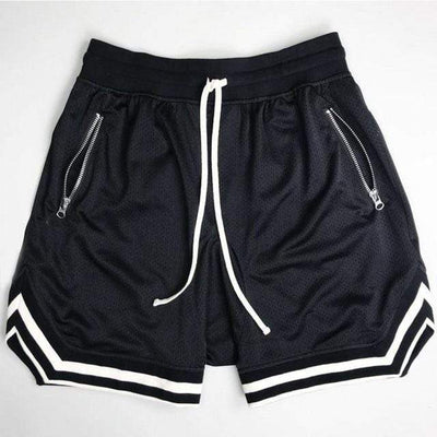 Black / L 80's Classic Gym Shorts Electric Solitude