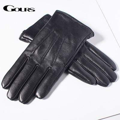 Black / L The Duke's Ultimate Sheepskin Gloves that Dealio