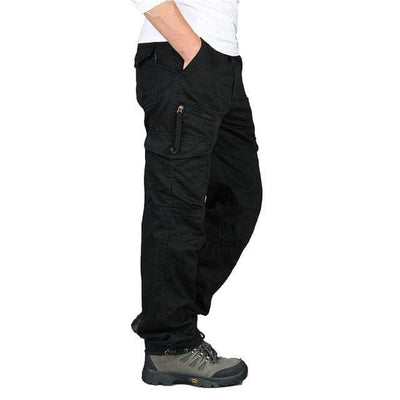 Black / M Men's Ripstop Relaxed Fit Work Pant Baron Supply Co