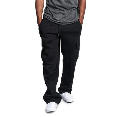 Black / M Urban Strides Cargo Sweats that Dealio