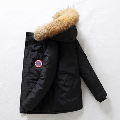 Black / XXXL Mount Temple Down Filled Parka Baron Supply Co
